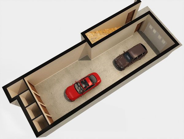 Garage / The Agassiz Floor Plan