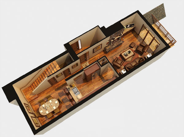 Second Floor / The Agassiz Floor Plan
